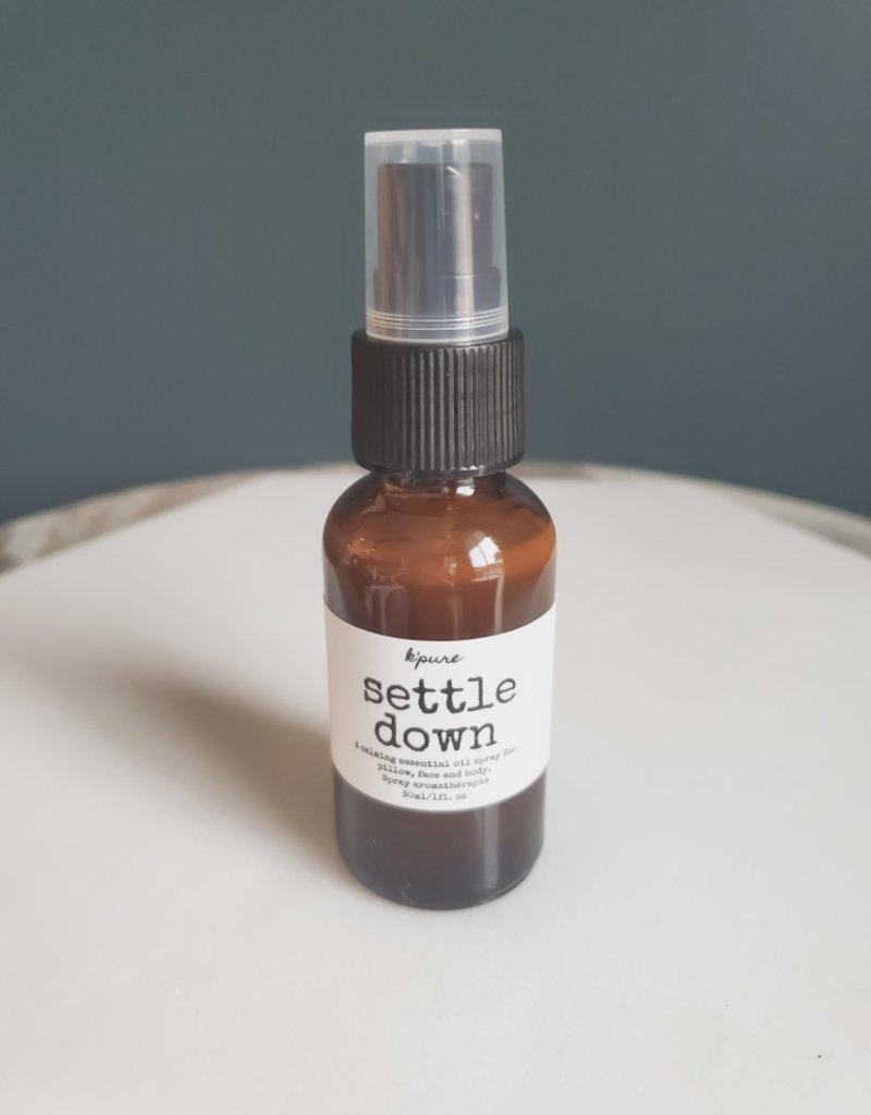 Kpure - Settle Down Spray