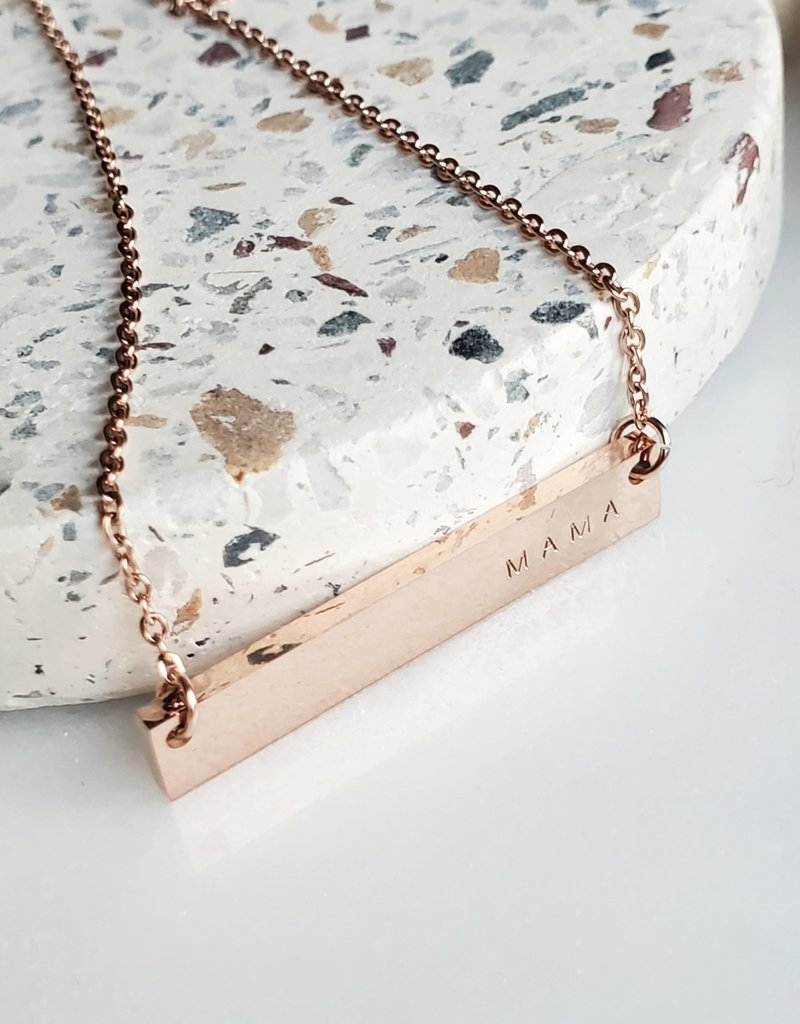 RC - Mama Bar Necklace