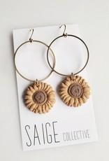 Saige Collective Saige - Sunny Hoops