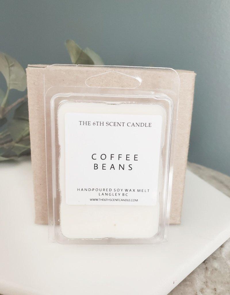 6S - Wax Melt / Coffee Bean