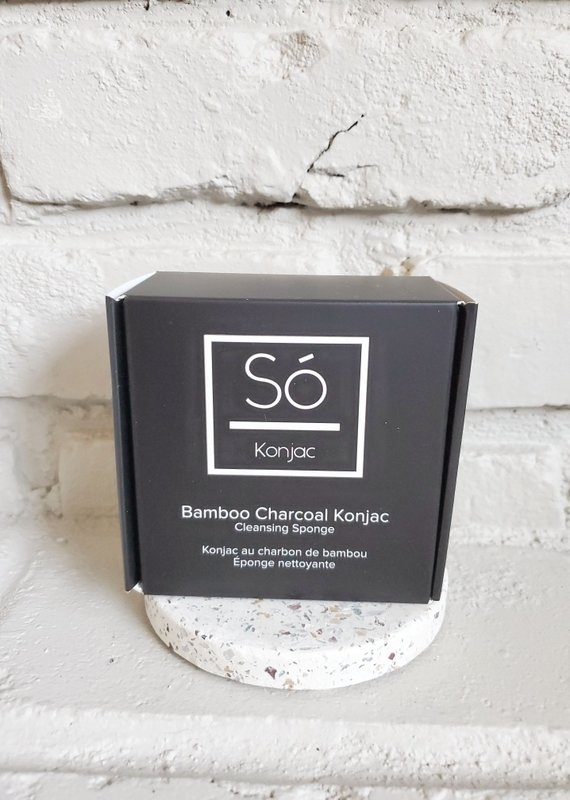 So Luxury Konjac - Bamboo Charcoal