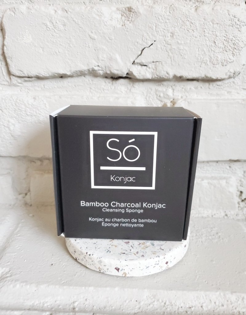 So Luxury Konjac - Bamboo Charcoal