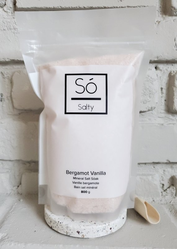 So Luxury Salty - Bergamot Vanilla