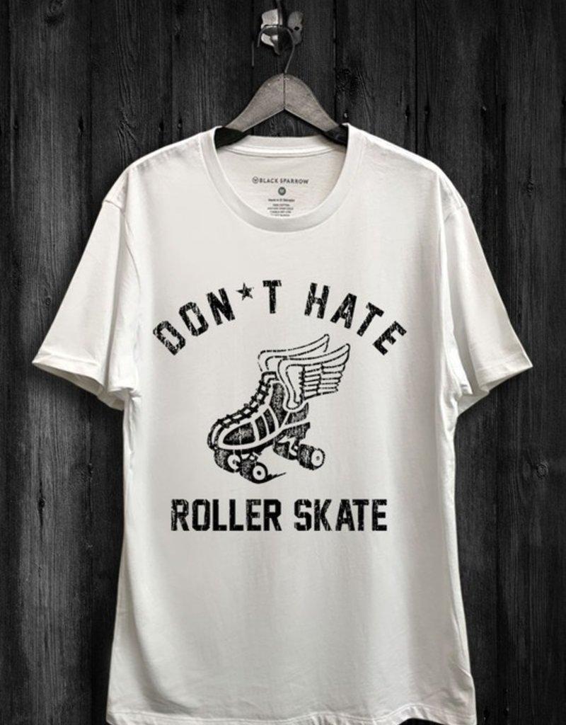 Black Sparrow Roller Skate Tee