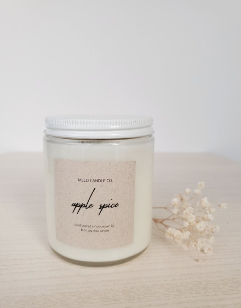Melo Candle Co Melo - Apple Spice Candle