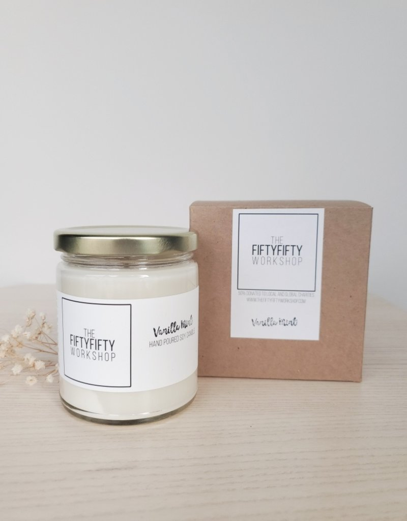 FF - Vanilla Mint Candle