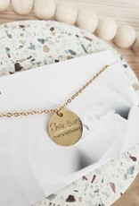 RC - Our Love Over Everything Circle Charm Necklace
