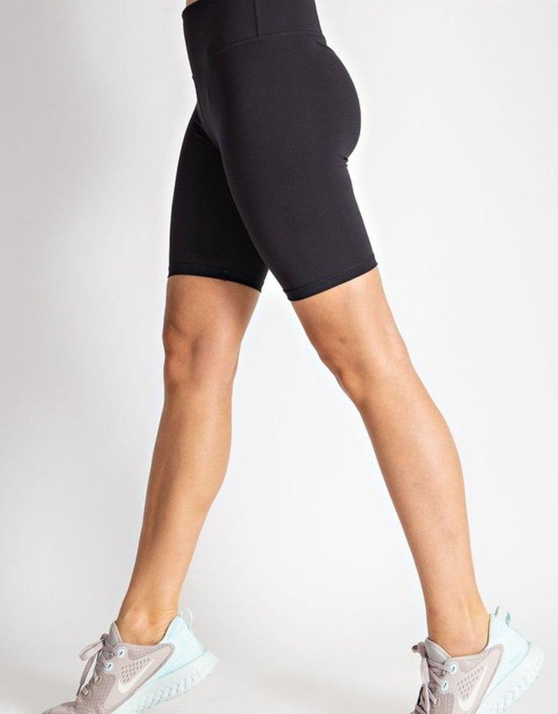 Luna Lounge Sage Biker Shorts