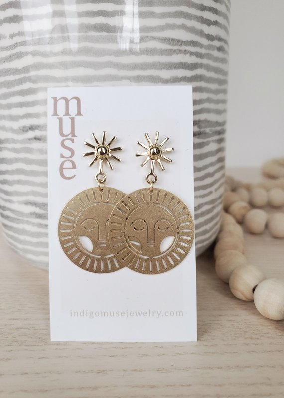 Indigomuse IM - Divine Earrings