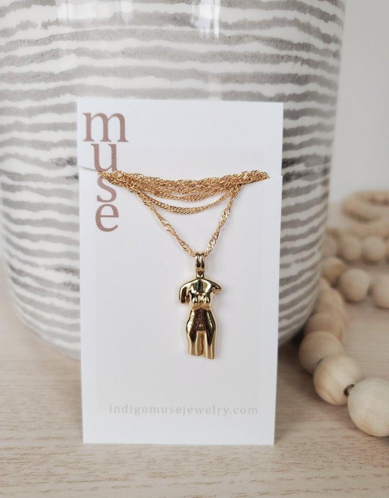 Indigomuse IM - Speak Love Necklace