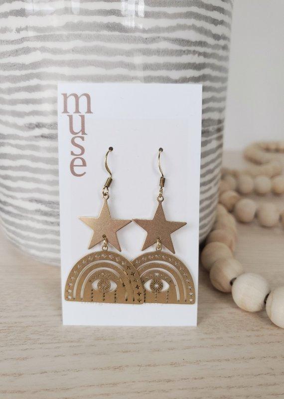 Indigomuse IM - Guidance Earrings