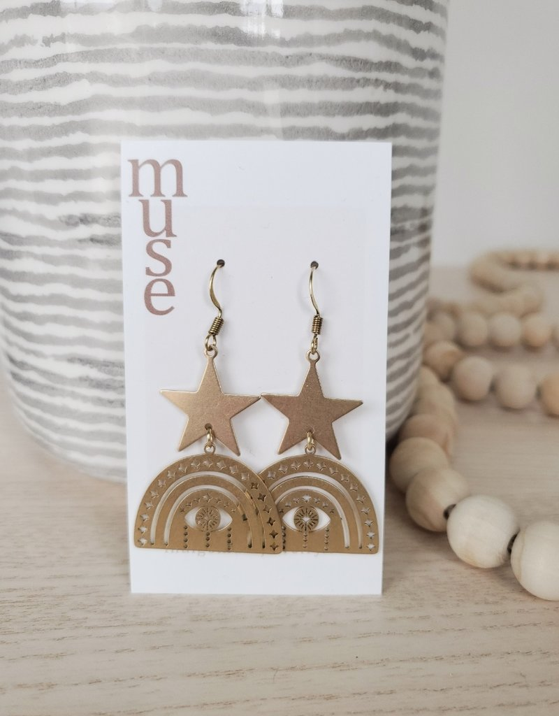Indigomuse IM - Guidance Earrings
