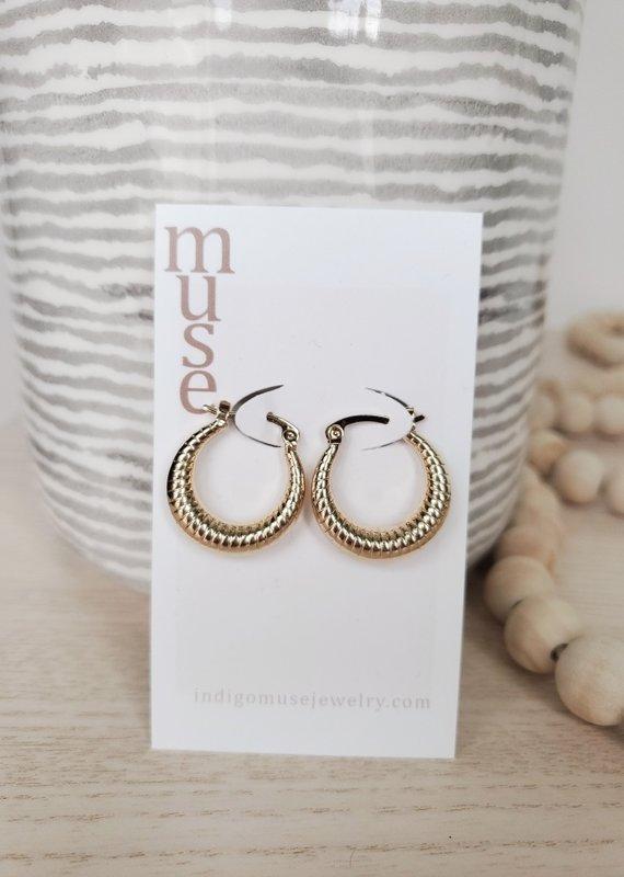 Indigomuse IM - Unconditional Earrings