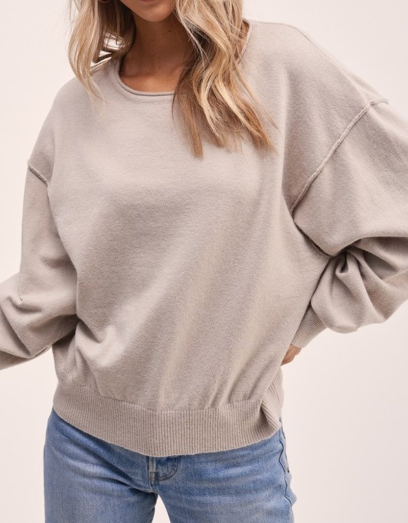 Darling True Story Pullover
