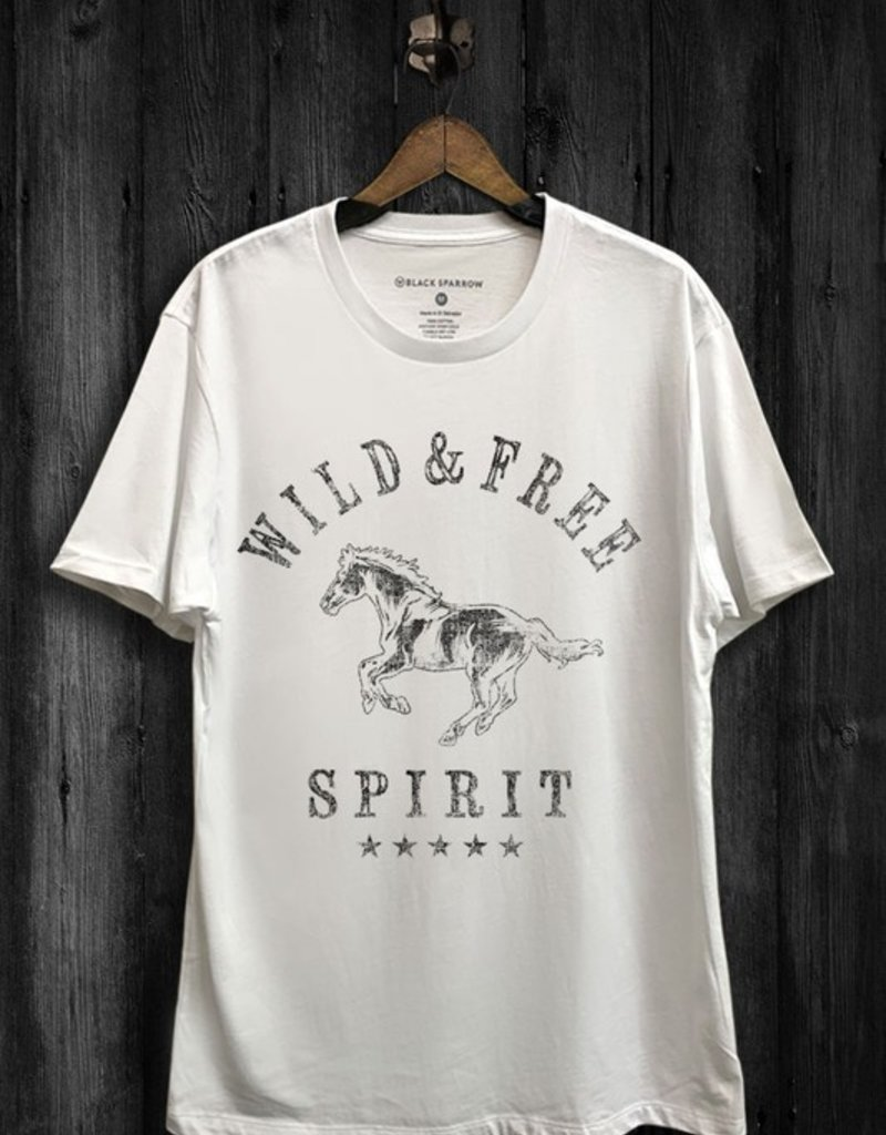 Black Sparrow Free Spirit Tee