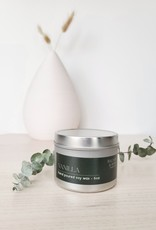 Balsam & Rose Candle Co BRC - Vanilla Tin Candle 6oz