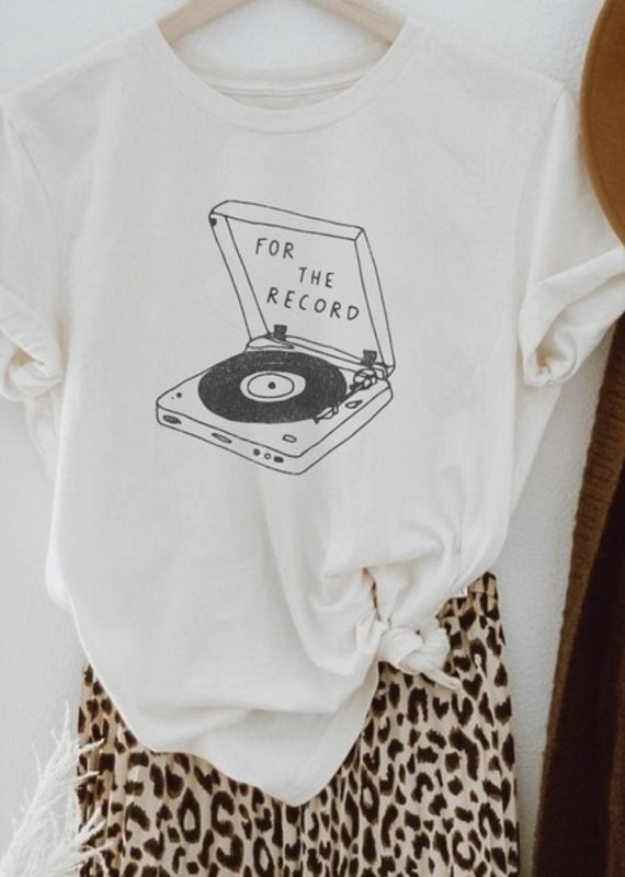 Luna Lounge For the Record Tee