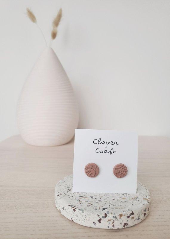 Clover + Coast Clover - Coco Lace Studs