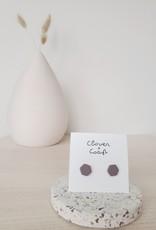 Clover + Coast Clover - Jolene Hexagon Studs