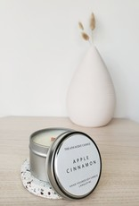 6S - Small Tin/Wood/Apple Cinnamon