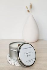 6S - Small Tin/Wood/Vanilla Mint