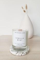 6S - Large Jar/Wood/Vanilla Mint