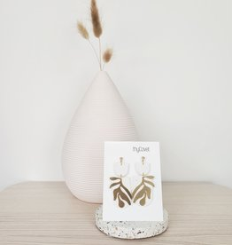 thyCovet TC - Botanical Earrings