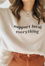 Luna Lounge Support Local Everything Pullover