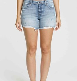 Willa Denim Blazed Shorts