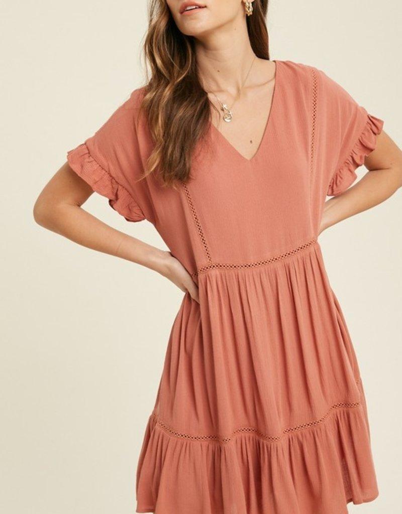 Marigolden Pearl Babydoll Dress