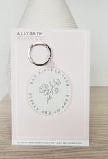AllyBeth Design Co AB - Keychain - Bad Bitches Club