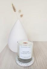 6S - Large Jar/Wood/Brownsugar + Fig