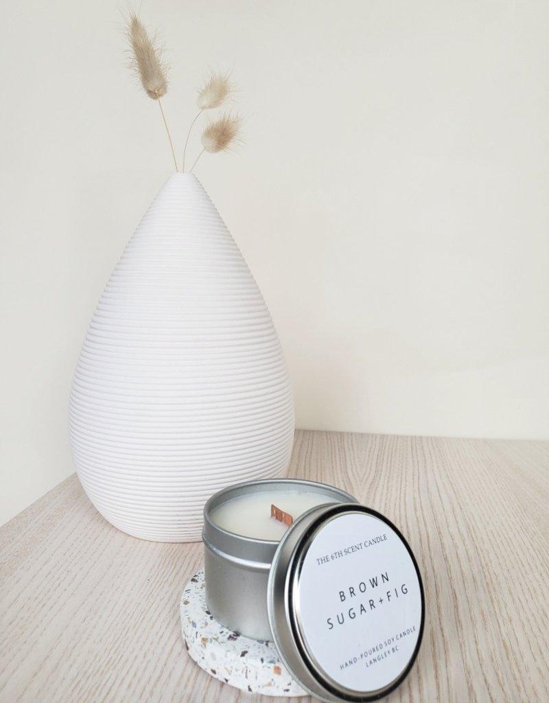 6S - Small Tin/Wood/Brownsugar + Fig