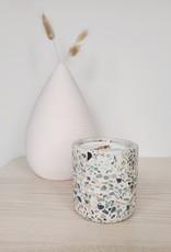 6S - White Terrazzo/Green Tea & Pear