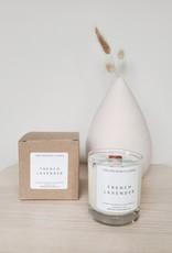 6S - Large Jar/Wood/French Lavender