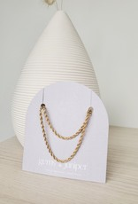 Gems & Juniper GJ - Thick Rope Necklace