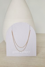 Gems & Juniper GJ - Thin Double Rope Necklace