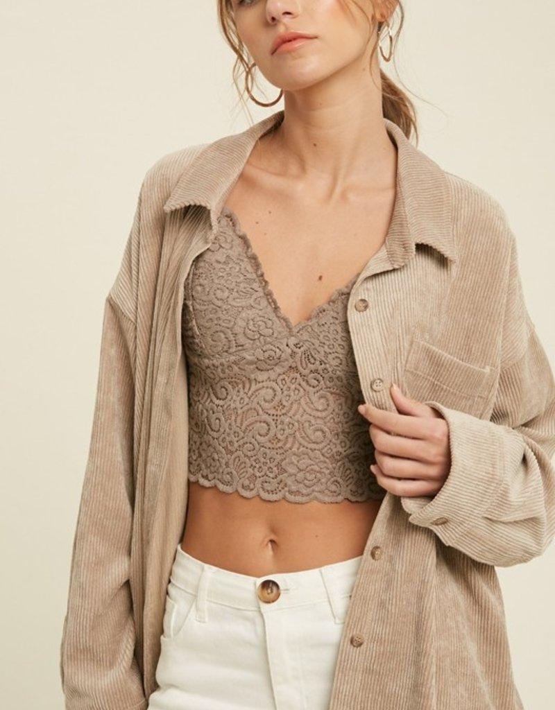 Marigolden Clover Cord Jacket