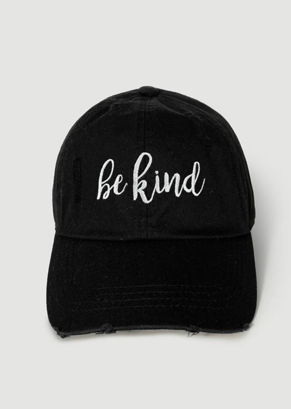 Be Kind Script Cap