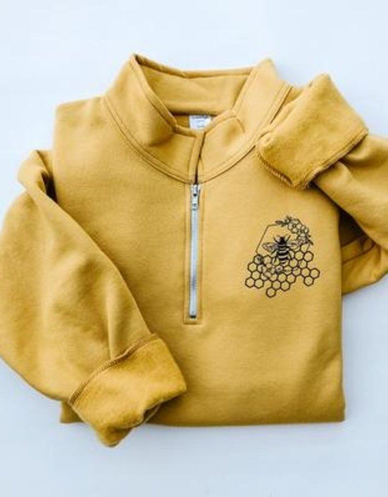 SLA - Wild Honey 1/4 Zip Pullover