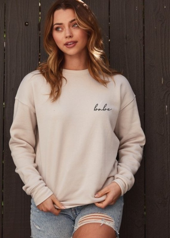 Luna Lounge Babe Pullover