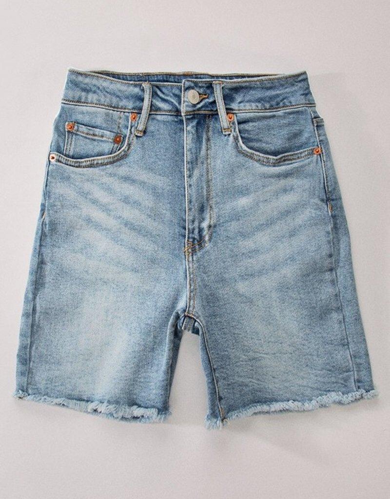 Rave on Jean Shorts