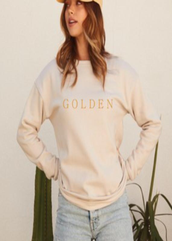 Luna Lounge Golden Pullover