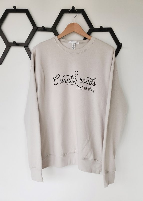 Luna Lounge Country Road Take Me Home Pullover