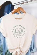 Luna Lounge Camp More Worry Less Tee