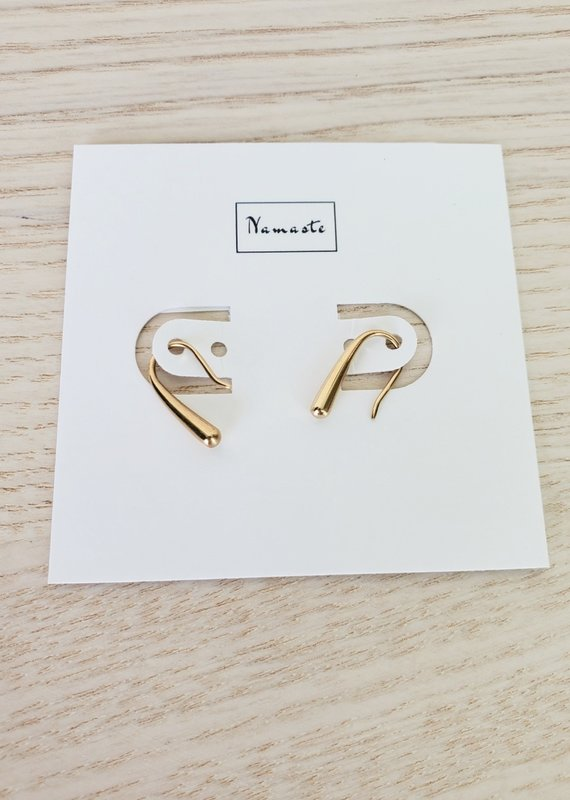 Namaste Jewelry NJ - U Earring