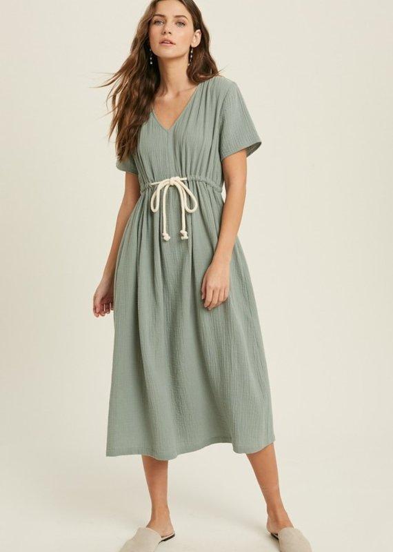 Marigolden Uptown Midi Dress