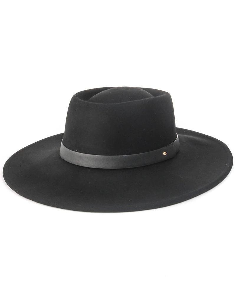 Nelly Flat Brim Hat