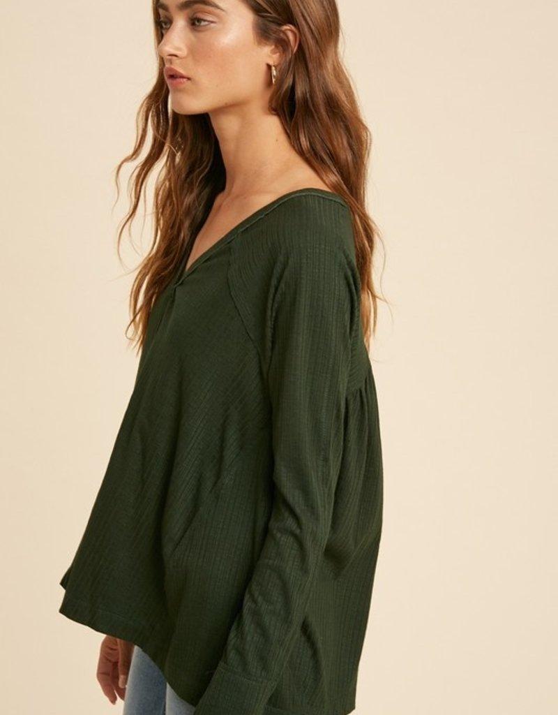 Darling Growth Knit Henley
