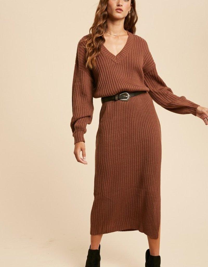 Darling Elinore Sweater Dress
